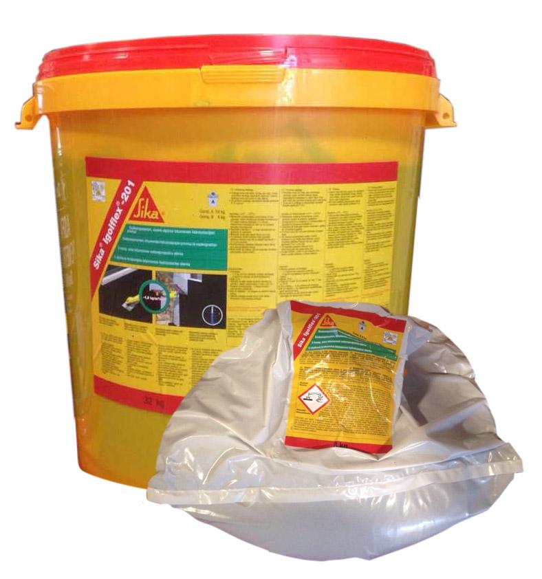 Asfaltová (bitumenové) hydroizolační lepidla