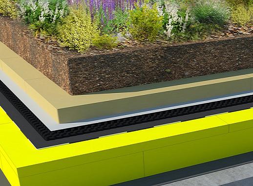 Tepelná izolace vegetační střech