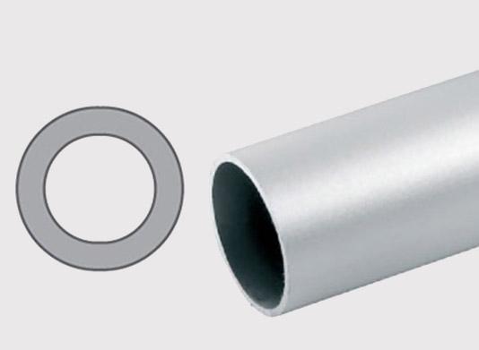 Konstrukční hliníkový kulatý pro