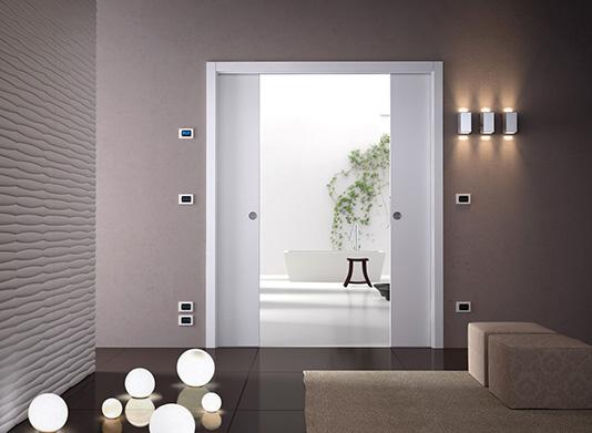 Stavební pouzdra pro posuvné dveře do zdiva
