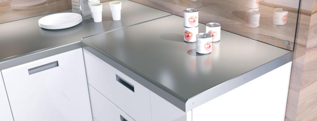 Lišty pro kuchyňské desky