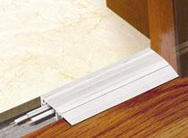 Dvoudílné podlahové přechodové lišty