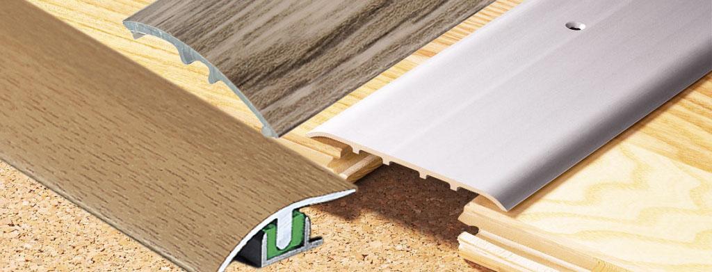 Podlahové přechodové lišty
