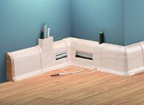 Soklové podlahové lišty