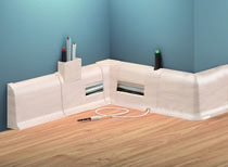 Podlahová soklová lišta premium