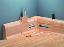 Podlahová soklová lišta PVC dvou