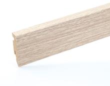 Lišta podlahová soklová mdf dub krystalický 58 mm 2,4 m