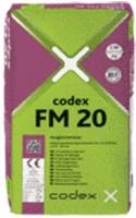 CODEX FM 20 - Jemná cemenetová samonivelační hmota do 20mm