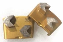 Diamantové nástroje pro HTC stroje řada M je určená pro broušení měkčích až středně tvrdých betonů a terazza