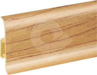 Podlahová lišta soklová Cezar Duo 92