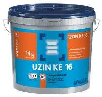 Disperzní lepidlo UZIN KE 16 pro lepení pvc, cv, linolea a textil. podlahovin 14kg