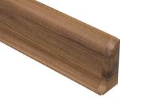 Cezar PREMIUM koncovka pravá, PVC, 59mm, ořech africký, dekor 131