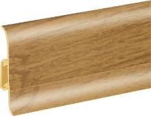 Podlahová lišta soklová Cezar Duo 68
