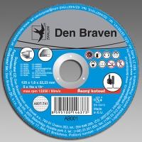 Den Braven řezný kotouč kov/inox A60T-125x1.0x22.23-T41