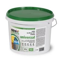 Mistral Univerzal Pro Mix bílá vodouředitelná barva s vysokou kryvostí 10 l