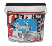 Delta-kit nivelační sada klínků 100 ks