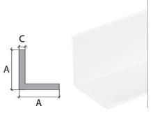 Vingl Cezar plast 20x20mm 2m bílý