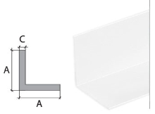Vingl Cezar plast 30x30mm 2,75m bílý
