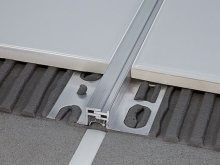 Celokovová objektová dilatace Profilpas Projoint NZA eloxovaný hliník 5mm 2,7m