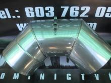 Koleno 60st s kontrolním otvorem pr. 140mm