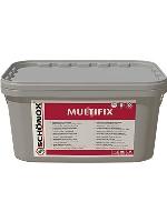 Fixační disperzní lepidlo na cv krytiny a kobercové čtverce Schonox Multifix 14kg