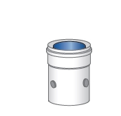 Měřící prvek komínu pro kondenzační kotle