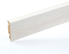 Lišta podlahová soklová mdf dub popelavý 58 mm 2,4 m