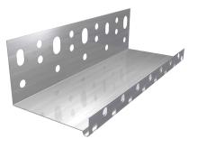 Fasádní zakládací profil  s okapničnkou  na založení tepelné izolace Weber AL 1mmx2m