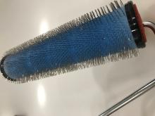 Nivelační ježkový váleček k odvzdušňovaní 250x13mm kovový (profi)