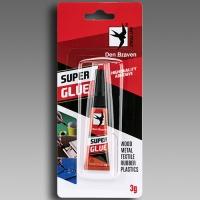Sekundové lepidlo Super Glue Den Braven 3g Red Line