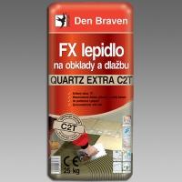 Den Braven flexibilní lepidlo na obklady a dlažbu Quartz Extra C2T 25kg