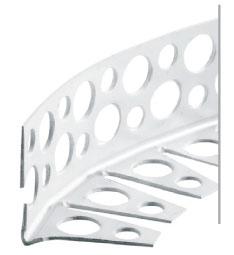 Podomítkový profil ohýbací PVC bílý 3m