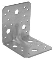 Úhelník kombinovaný s prolisem 90x105x105x3, 4 díry