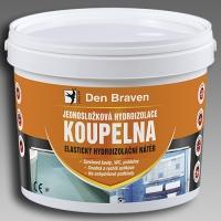 Jednosložková hydroizolace Koupelna Den Braven 2,5kg