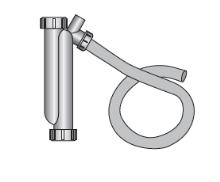 Sifon komínu pro kondenzační kotle