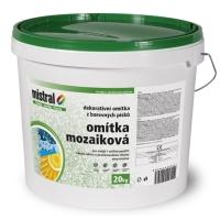 Mistral Mozaiková dekorativní omítka 20 kg (základ 6 kg)