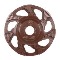 Diamantový kotouč Cup Wheel 4 Brown Redimax 125mm zrnitost 80