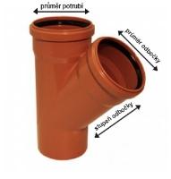 Kanalizační odbočka KGEA 45 a 87 st.