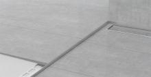 Spádová lišta Profilpas nerez kartáčovaná 10mm 1,2m levá