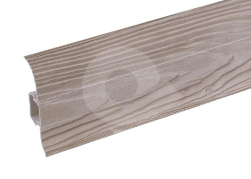 Podlahová lišta soklová Cezar Premium 165