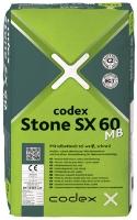 Rychlé lepidlo pro střední lože s krystalickou vazbou vody CODEX Stone SX 60 MB 25kg