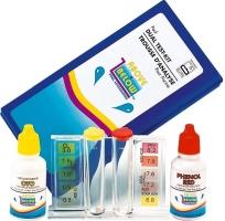 Bazénový tester kapičkový Cl/pH metoda pomocí kapek