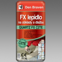 Den Braven flexibilní lepidlo na obklady a dlažbu Quartz FX C2TE 25kg