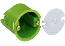 Elektroinstalační krabice Spelsberg do sádrokartonu pro vývod ze stěny, hloubka 40mm