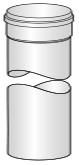 Komínový díl (trubka) plastovy pro kondenzační kotel