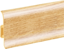 Podlahová lišta soklová Cezar Duo 151