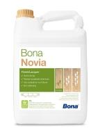 1-složkový lak pro dřevěné podlahy v domácnostech Bona Novia polomat 5l