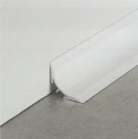 Lišta k dodatečnému uchycení Profilpas hliník lakovaný bílý 20x20mm 2,7m
