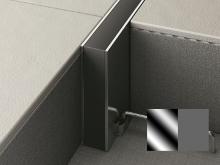 Hloubková dilatace s kotvou do betonu Profilpas Projoint STI  šedá guma nerez 10x30mm 2,5m