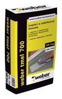 Lepící a stěrková hmota standard Weber tmel 700 25kg